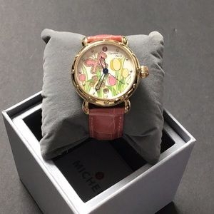 Gorgeous Michele Garden Party Butterfly Watch
